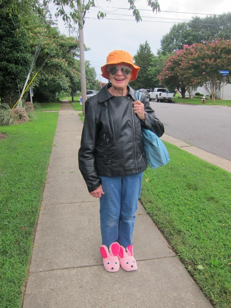 Grandma S is ready to go!