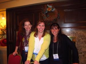Sarah McGuire, Jen Malone, me